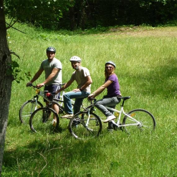 Mountain Bike in Norcia