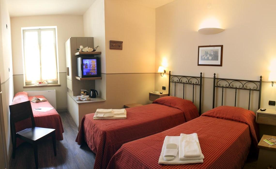 Hotel Norcia camera