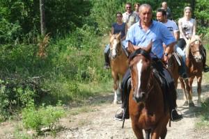 Escursioni cavallo Norcia