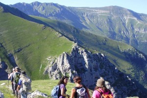 Trekking a Norcia